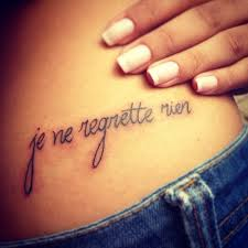 Tattoo French And Nails Image