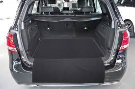 2 pièces tapis de sol de voitures du coffre adapté pour mercedes b