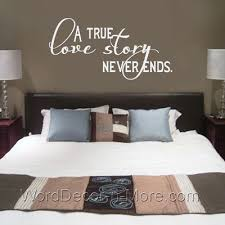 Master Bedroom Wall Quote