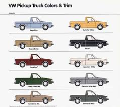 100 Rabbit Truck Caddy Pickup Colors MK1 Army