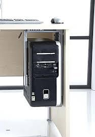 fixation pc sous bureau bureau pc fixe bureau pour ordinateur fixe meetharry co