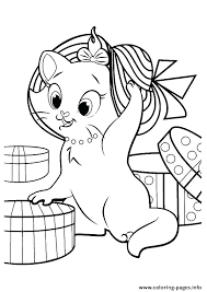 Kitten Coloring Sheets Pages Online Colouring For Adults