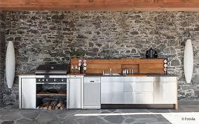 wie eine outdoorküche planen garten und freizeit