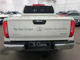 2017 Mercedes-Benz X-Class X250d Power Manual 4MATIC Dual Cab ...
