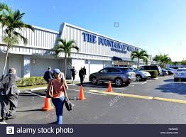 Exterior of the Fountain of New Life Church in Miami Gardens Stock