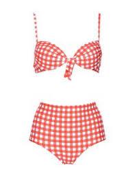 Bikini Donna Online A Vita Alta Fascia Push Up E Costumi Mare