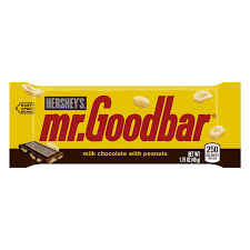 Halloween Candy Calories List by The Hershey Company Mr Goodbar Milk Chocolate Bar 1 75 Ounce Bars