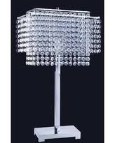 Ore International Floor Lamp Silver by Amazing Deal On Ore International Art Deco Glam Dangling Crystal