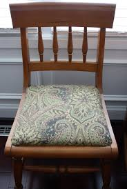 How To Reupholster A Dining Chair Seat 14 Steps With Pictures Awesome Reupholstered Room Chairs