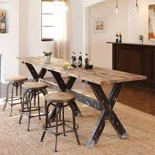 Furniture Narrow Dining Tables Gallery Including Long Kitchen