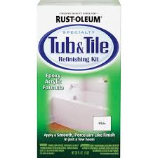 Bathtub Refinishing Training In Canada by Rust Oleum Tub U0026 Tile Refreshing Kit Walmart Com