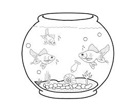 Aquarium Fish Coloring Pages
