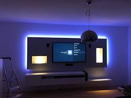 multimediawand wohnwand wall led homecinema wohnwand