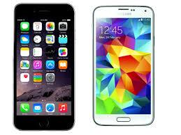 Smartphone showdown iPhone 6 vs Samsung Galaxy S5