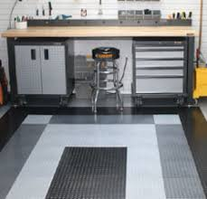 the educated garage garage flooring custom storage solutions