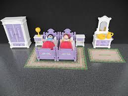 playmobil schlafzimmer möbel mit zubehör zum nostalgie