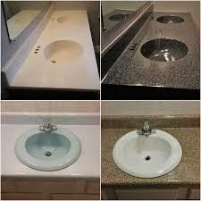 American Bathtub Refinishing Miami by Pkb Reglazing Sink After Img4117 Building A Vanity Restoring