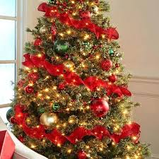Cashmere Christmas Tree Canada Artificial Trees Decor Inspirations Wonderful 7 5 Ft Lit Jasper Clear