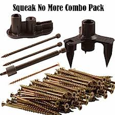 This Old House Squeaky Floor Screws by Squeeeeek No More Counter Snap Combo Pack Fix Squeaky Floors
