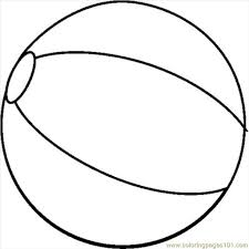 Beach Ball Coloring Pages To Print Oloring For All Ages Intended The Amazing In