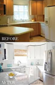 our kitchen transformation from dull to bright home
