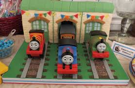 Thomas And Friends Tidmouth Sheds Wooden Railway by Thomas Cake Tidmouth Sheds Thomas U0026 Friends Cook Home Bake