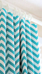 Gold And White Chevron Curtains by Best 25 Turquoise Curtains Ideas On Pinterest Teal Home
