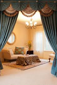 Dining Room Curtains With Valances Credainatcon Com Rh For Bay Windows In Swag