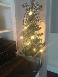 DIY Flocked Christmas Tree From The Dollar Tree Store