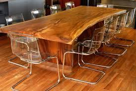 table cuisine bois exotique cette table en bois est magestueuse tueuse mobilier rustique
