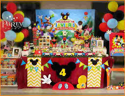 5 mickey mouse clubhouse birthday decorations
