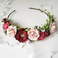 Beautiful baby flower crown Flowers made of paper very light and