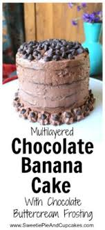 Chocolate Banana Cake Is Super Simple To Make And Its Made With Ripened Bananas Get