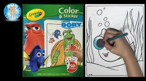 Crayola Bathtub Fingerpaint Soap Set by Crayola Disney Pixar Finding Dory Color And Sticker Coloring Set