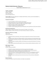 Resume Examples For Healthcare Medical Administrative Assistant Nice Administration Me Samples Objective