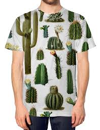 Cactus All Over Fashion T Shirt Tumblr Hipser