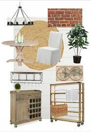 Industrial Farmhouse Dining Room Design Plan
