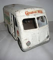 Vintage 1950's Tonka Pressed Steel Carnation Milk Truck Delivery Van ... 1950 Photo Of Truck Carrying Milk Containers On Ebay Ewillys Just A Car Guy Salute The Day Vintage Fullystored 1965 Tonka Diecast Monster Vintage Site Bread Ice Cream Delivery 52 Chevy Van Alinum Body 94l 785w Home Delivery Fresh Whole Milk In Glass Containers Antique In Parade Editorial Image Apple Cream Divco Wishful Thking Gallery Popular By Richardphotos Poser Transportation Vector Modern Flat Design Illustration On Dairy Old Stock Royalty Free 2719659