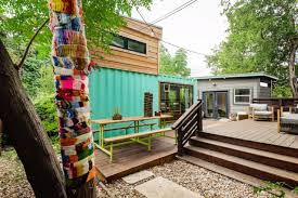 104 Shipping Container Homes In Texas Tiny Houses And For Glamping Overnight Stays Parked Paradise
