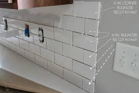 kitchen backsplashes daltile ceramic subway tile what size for