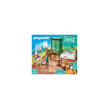 playmobil 9476 spirit free luckys schlafzimmer