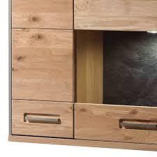 94x120x39 hängeschrank fürs wohnzimmer in eiche bianco hannica