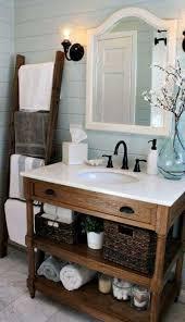 Modern Bathroom Update Rustic Chic