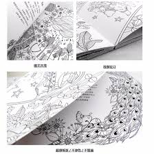 Coloring Books For Adults Flower And Watchman Anti Stress Heart Yoga Book
