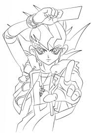 Click To See Printable Version Of Zexal From Yu Gi Oh Coloring Page
