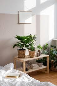 diy deko idee jungle feeling im schlafzimmer deko