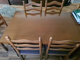 esszimmer tisch mit 12x stühlen