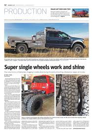 100 Wide Truck Tires Super Single Wheels And DBL Design
