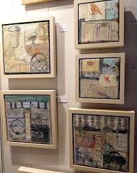 displaying and hanging textile textileartist org