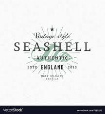 100 Sea Shell Design Vintage Retro Elements For